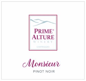 Etichette Monsieur Pinot Nero
